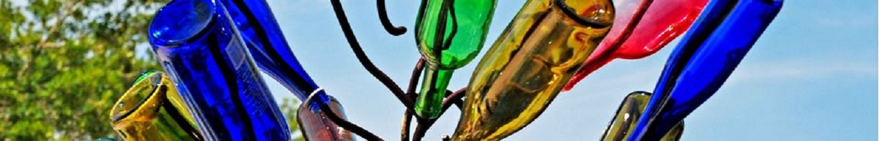 Wine Bottle Trees